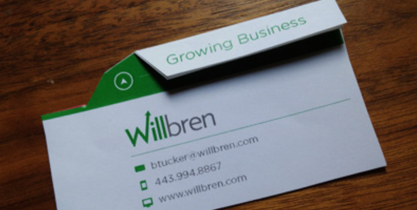 folded business card designs 16