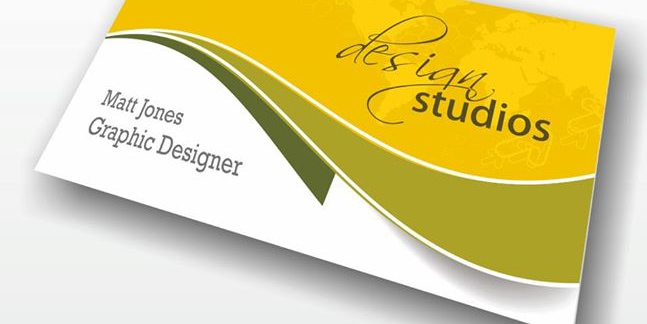 folded business card designs 2
