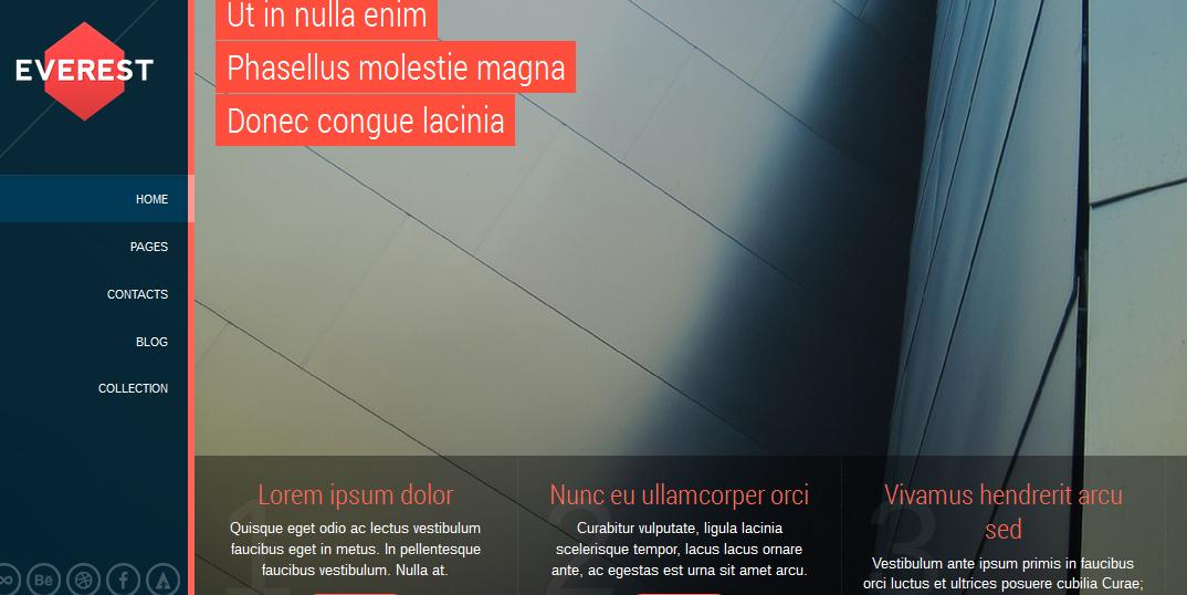 full screen retina responsive wordpress theme