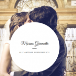 full screen wedding wordpress theme