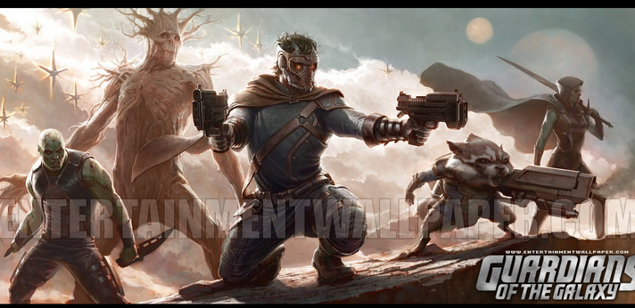 guardians of the galaxy wallpaper 3