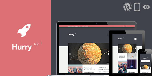 hurry retina responsive wordpress theme