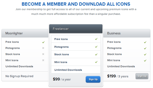 icon membership