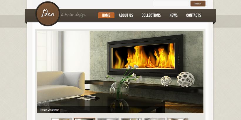 idea interior design wordpress themes