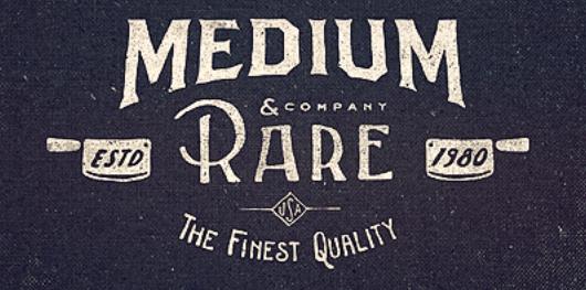 modern retro logo design 1