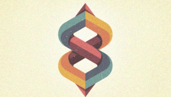modern retro logo design 2