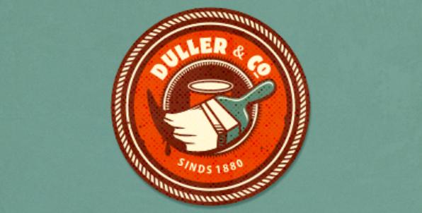modern retro logo design 3