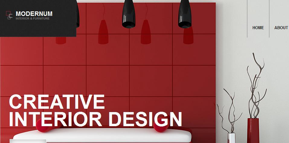 modernum interior design wordpress themes