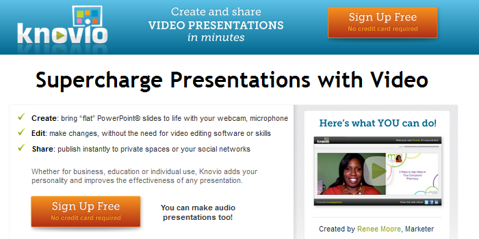 online video presentation tool