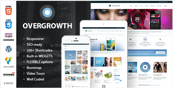 powerful retina responsive wordpress theme