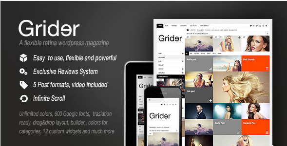 retina responsive magazine wordpress theme
