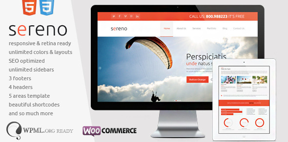 retina responsive woocommerce wordpress theme 3