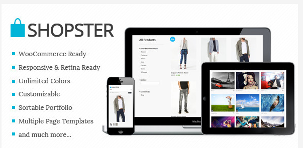 retina responsive woocommerce wordpress theme