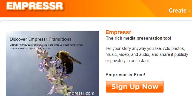 rich media presentation tool online