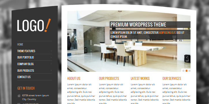 rt theme interior design wordpress themes