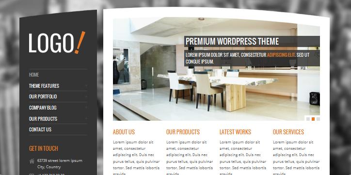 rt theme interior design wordpress themes