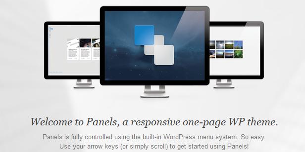 single landing page wordpress themes