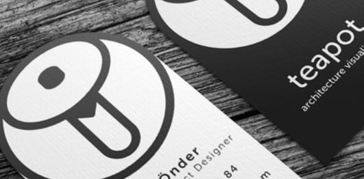 trendy business card design 2
