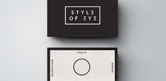 trendy business card design 23