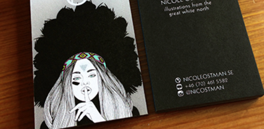 trendy business card design 24