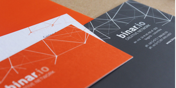 trendy business card design 4