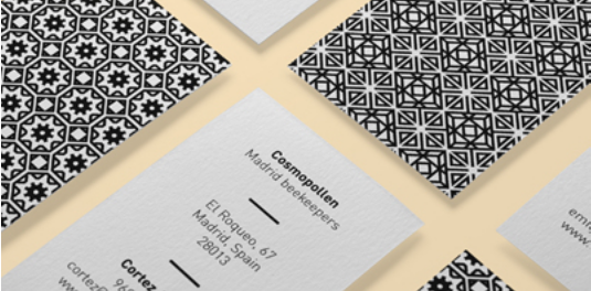 trendy business card design 9