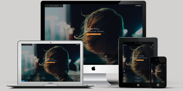 wildhorn retina responsive wordpress theme