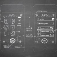 wireframe & mockup sketches 04