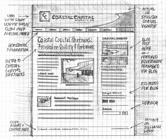wireframe & mockup sketches 05