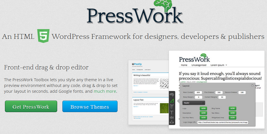 best html5 wordpress framework 3