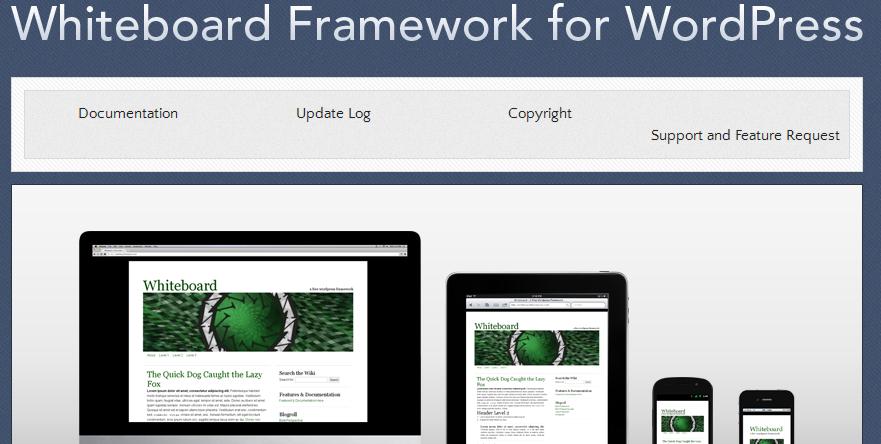 best html5 wordpress framework 8