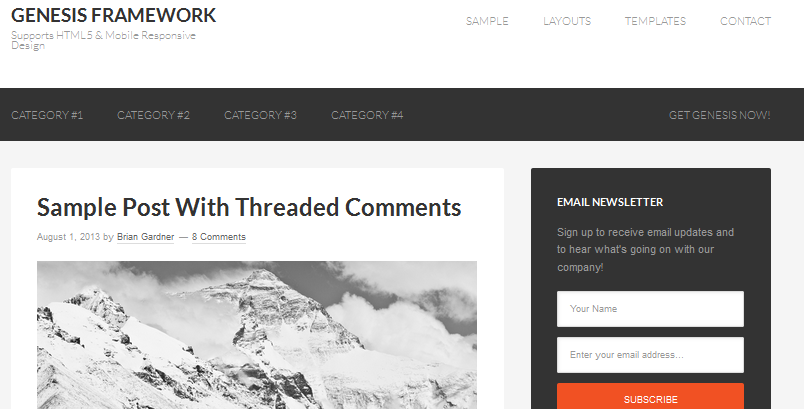 best html5 wordpress framework 9