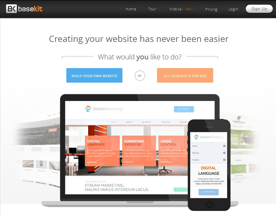 code free website builder 10