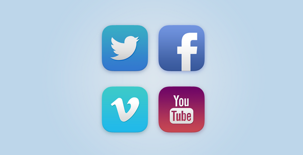 latest social media icons 1