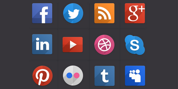 latest social media icons 12