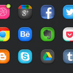 latest social media icons 15
