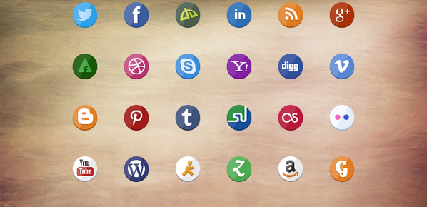 latest social media icons 17