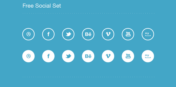 latest social media icons 18