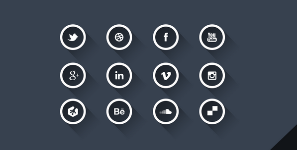 latest social media icons 3