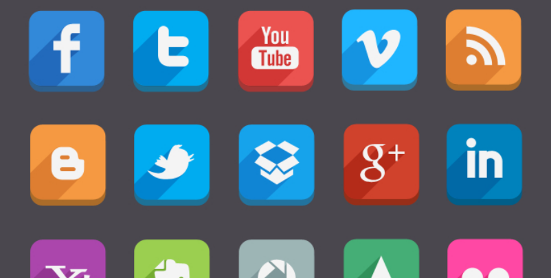 latest social media icons 8