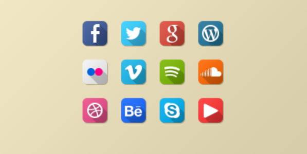 latest social media icons 9