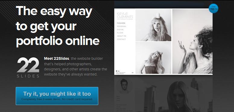 online portfolio builder 2013 10