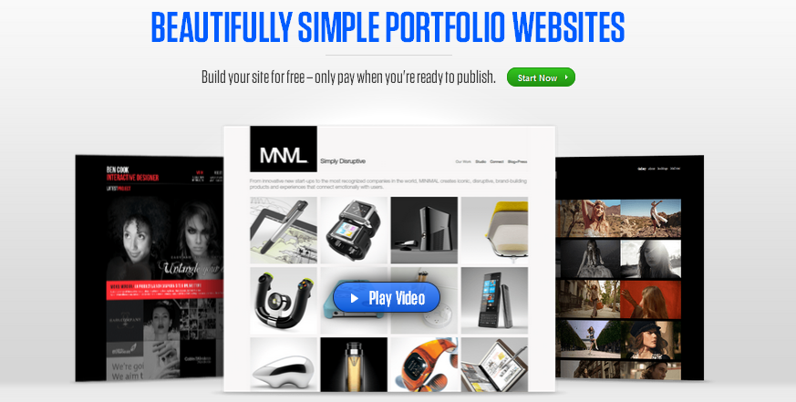 online portfolio builder 2013 11