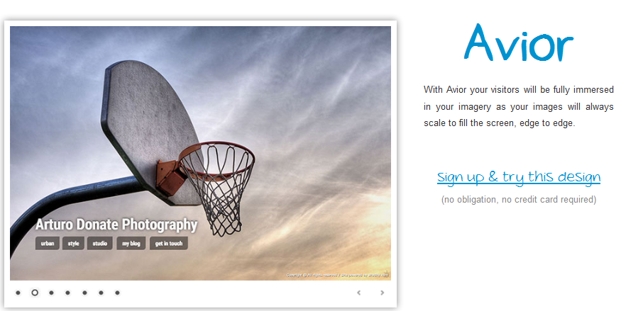 online portfolio builder 2013 12