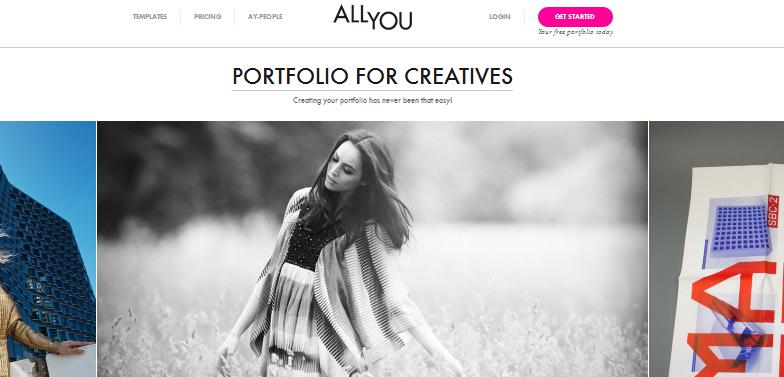 online portfolio builder 2013 2