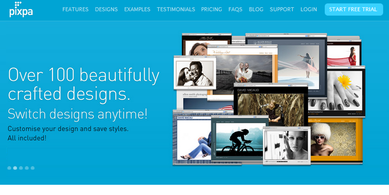 online portfolio builder 2013 5