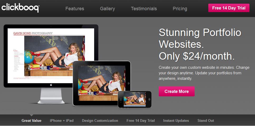 online portfolio builder 2013 6