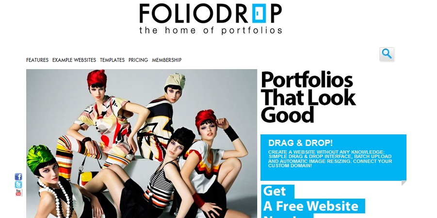 12 best online portfolio builder for artists, photographers and ...