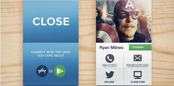 social media business cards design 1
