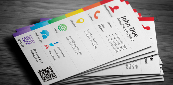 15 Stylish Social Media Business Cards Designs